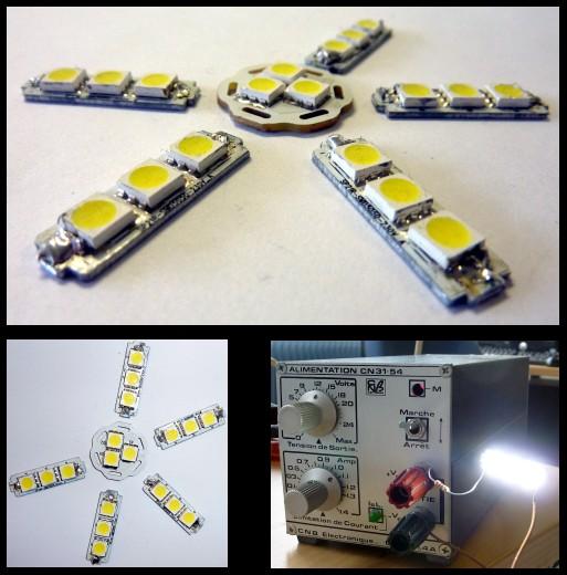 Ampoule à LED utilisée pour l'éclairage en 12v