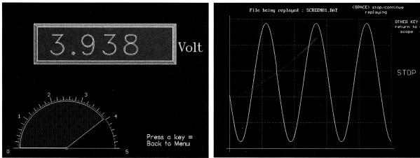 Elektor - Janvier 1997 - Multimet - Copies d'écran