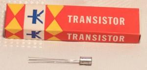 Philips- transistor au germanium AC126