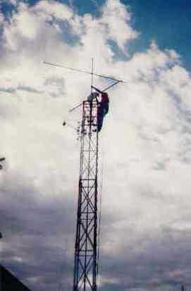 Intervention sur le système d'orientation verticale des antennes