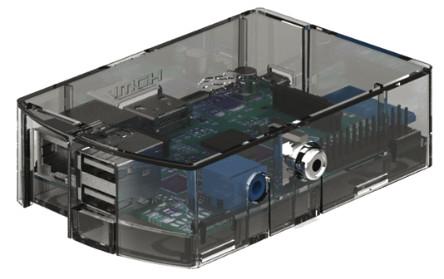 Boîte transparente (RS composants)