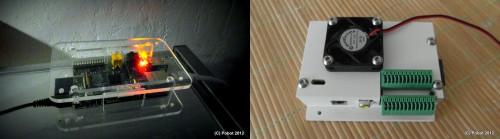 Deux boîtiers pour le Raspberry Pi - DIY association Pobot