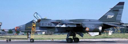 Jaguar de l'escadron 1/7 Provence - Base aérienne de Saint-Dizier (52)
