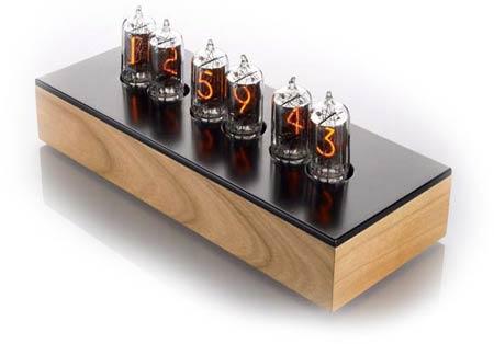 Pendule à 6 chiffres - tubes Nixie
