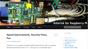 Asterisk pour Raspberry Pi