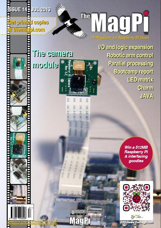 The MagPi N° 14