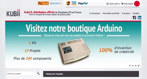 Kubii.fr : Boutique Arduino