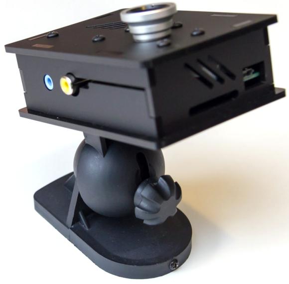 Boîtier caméra pour le Raspberry Pi, équipé de la fixation murale - [nwazet