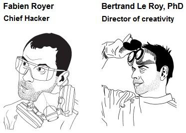 Nwazet : Fabien Royer et Bertrand Le Roy