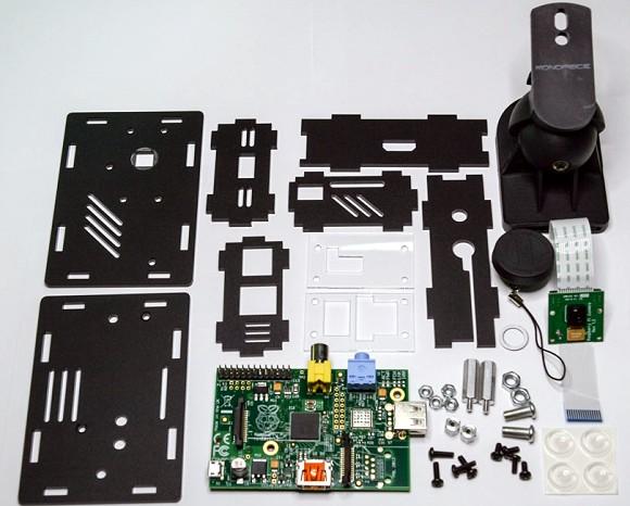 Boîtier caméra pour le Raspberry Pi - [nwazet