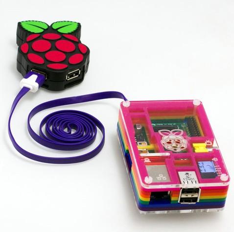 PiHub un hub USB spécialement conçu pour le Raspberry Pi