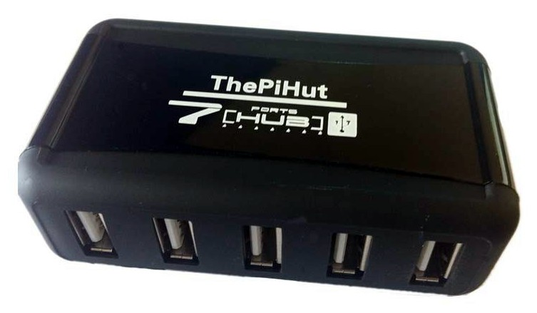 Prix du hub USB 7 ports PiHut