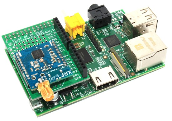 Carte Slice of Pi avec module HF