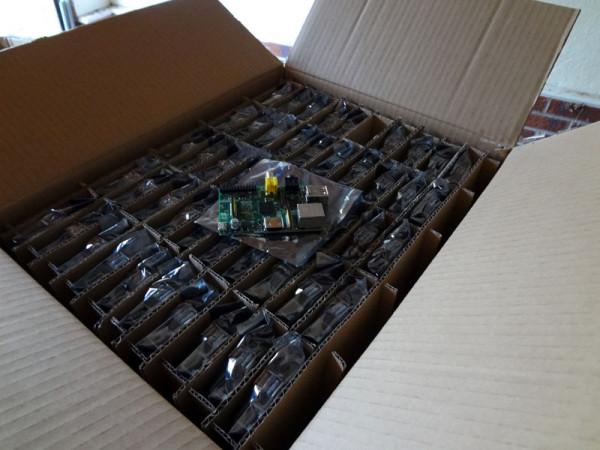 La livraison des 2000 premiers Raspberry Pi