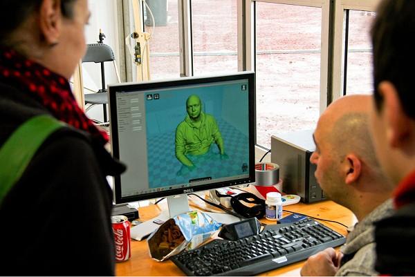 Une image 3D obtenue avec Autodesk Recap