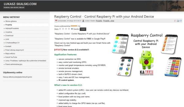 Raspberry Control