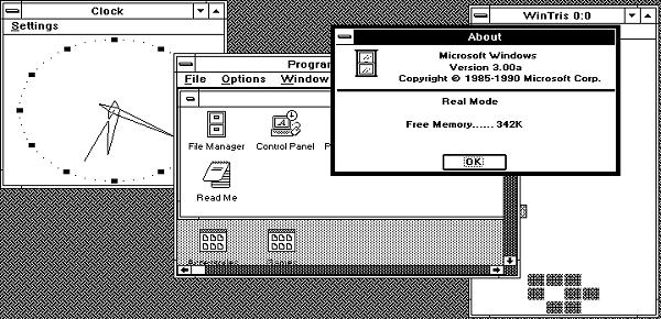 8086tiny - Windows 3