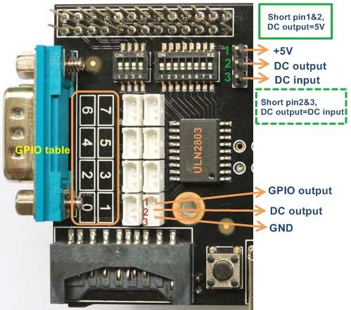 Carte d'extension X100 Suptronics - Sortie collecteur ouvert à base d'ULN2803