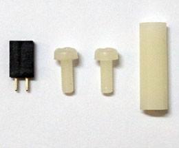 Carte d'extension X100 - Connecteur RESET et kit d'assemblage