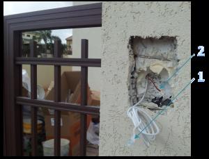 Préparation pour l'installation du portier NovoSIP - Oyoma
