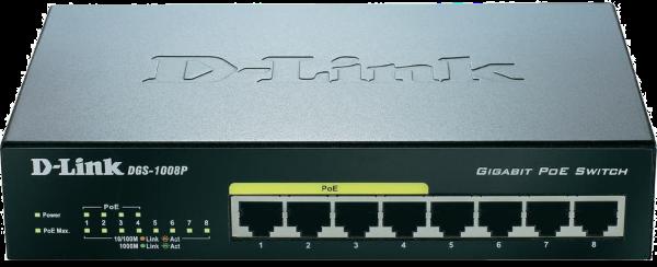 Switch PoE pouvant être utilisé avec le portier Novosip d'Oyoma
