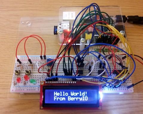 BerryIO - Commande d'écran LCD