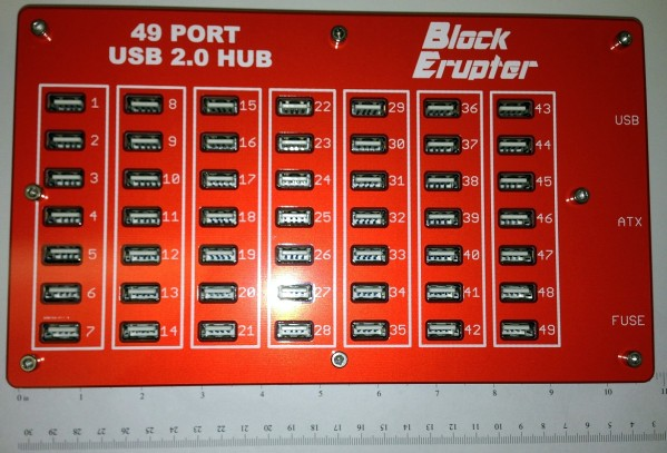 Hub 49 ports Block Erupter