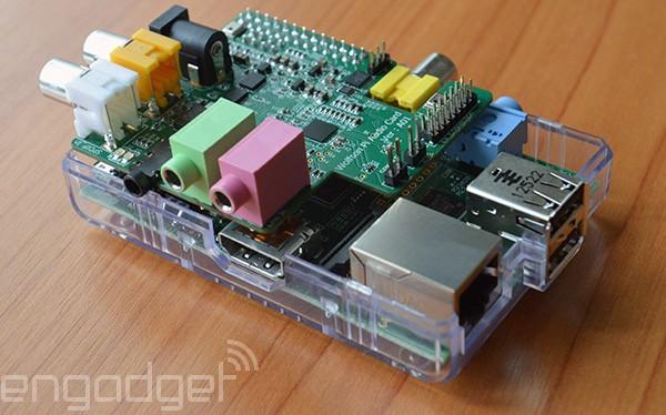 Carte son Wolfson montée sur un Raspberry Pi - Crédit Photo http://www.engadget.com/