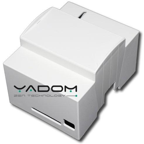 Boîtier DIN Yadom pour le Raspberry Pi - Version sans fenêtre transparente