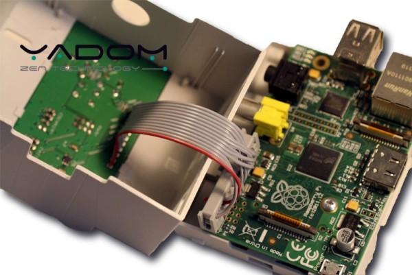 Boîtier DIN Yadom avec afficheur OLED et clavier - Connexion de la carte afficheur/clavier au Raspberry Pi