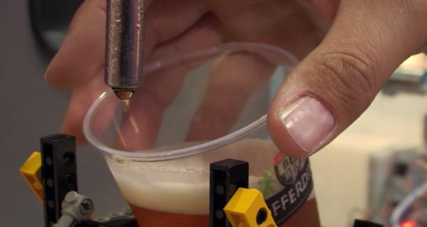Allez ! C'est prêt vous pouvez récupérer votre bière bien fraîche !