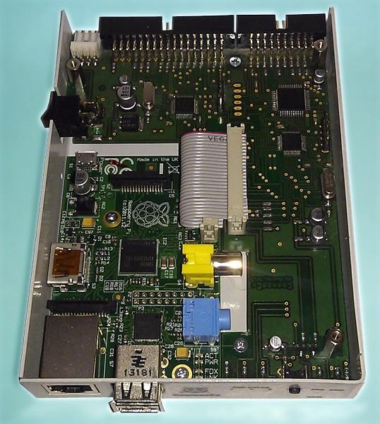 Et enfin la vue qui nous intéresse le plus : CosmosEx est basé... sur un Raspberry Pi