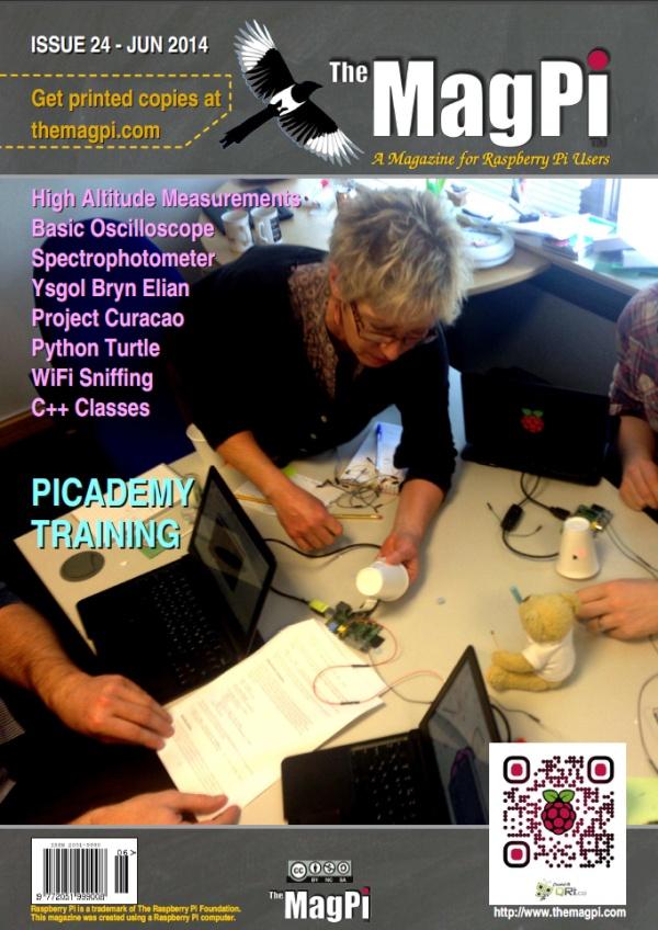 The MagPi N°24 - Juin 2014