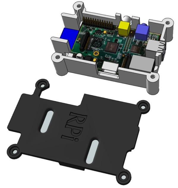 3D Warehouse - Modélisation du Raspberry Pi et d'un boîtier