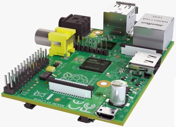 Modèle 3D de Raspberry Pi sur TurboSquid