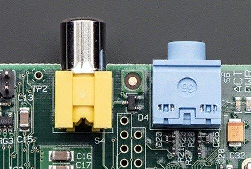 Les connecteurs audio/vidéo d'origine