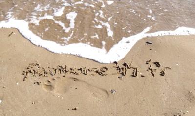 framboise314.fr sur la plage en Espagne