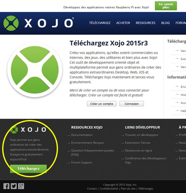 xojo_telecharger