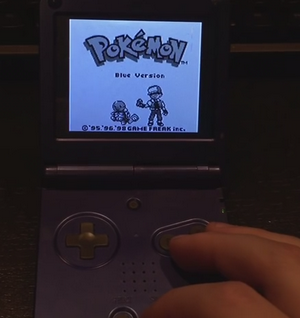 Raspberry Pi Game Boy SP