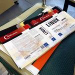 Des couvertures de Linux LCP1 en attente d'utilisation