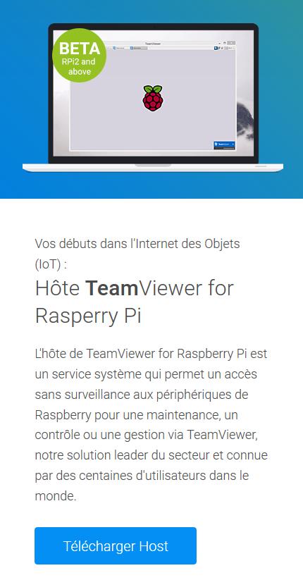 Connectez-vous à distance au Raspberry Pi avec TeamViewer