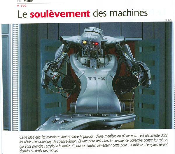 Le soulèvement des machines... c'est pour quand ?