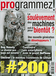 couverture de programmez numéro 200