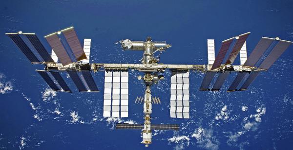 Vue de l'ISS