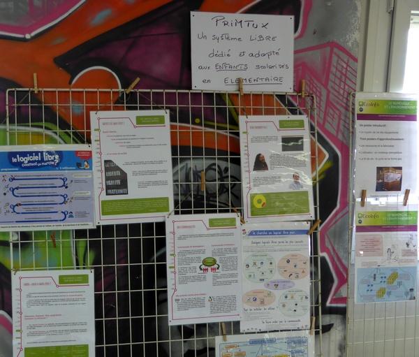 Expo sur le logiciel libre - Atelier PrimTux