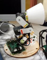 Courthézon - En visite à CourTechZone - Robot