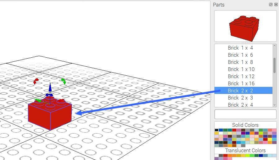 LeoCAD : des modèles LEGO en 3D sur Raspberry Pi - Framboise