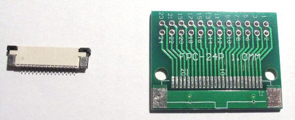 Connecteur FFC et adaptateur DIP