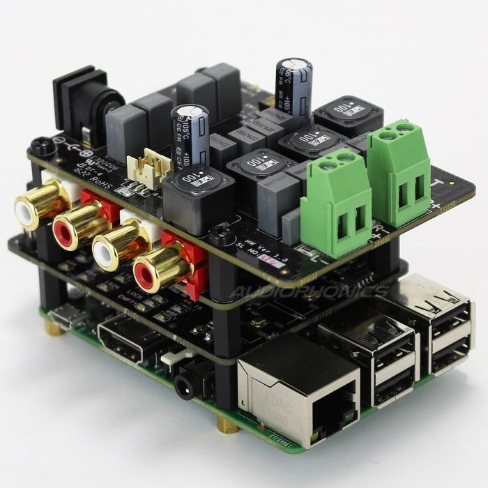 Système audiophile Allo pour Raspberry Pi et Sparky