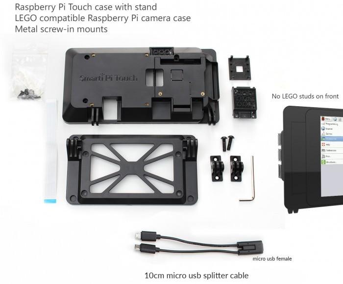 47ff17a8758058 SmartiPi Touch   un support pour l écran tactile officiel 7
